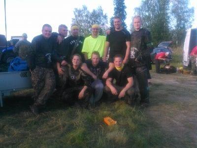 Satakuulan ryhmä Suurpelissä
